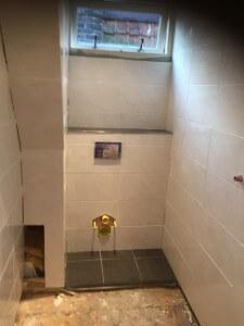 Ruimte voor toilet